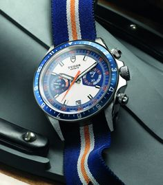 Tudor Heritage Chrono Blue Watch For 2013