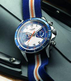 Tudor Heritage Chrono Blue Watch For 2013