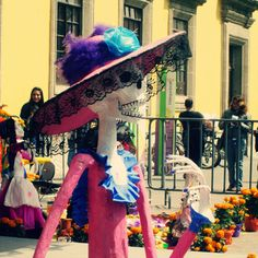 Mexico City, Coyoacan 2014. Celebrations of Day of The Dead