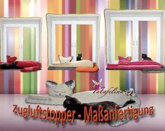 Zugluftstopper Katze Deko Katze Maßanfertigung von Fatafelina auf DaWanda.com