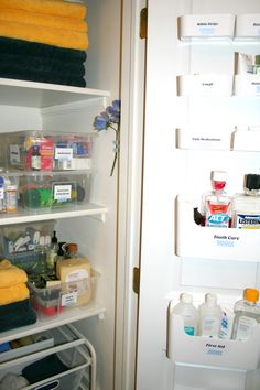 linen closet organization solutions from ikea