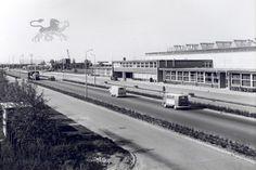 Gezicht over de Heliconweg op de Frieslandhal (veemarkt). Was, Dutch, Entertainment, Black And White, History, Outdoor, Pictures, Nostalgia, Outdoors