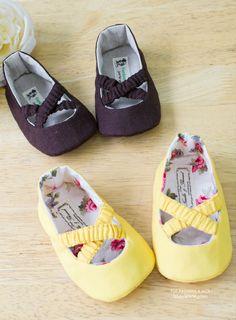 Baby Ballet Shoes PDF Pattern
