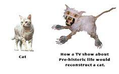 Dinosaur Pop Culture Reconstructions