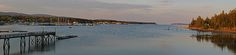 Panorama photography of Southwest Harbor, nestled into the granite seacoast away from the Atlantic Ocean on Mount Desert Island in Maine. This harbor as part of small coastal villages along the coastal areas of MDI is quintessential Maine.   Good light and happy photo making!   My best,   Juergen  Art Prints: www.RothGalleries.com  Image Licensing: www.ExploringTheLight.com  Photo Blog: http://whereintheworldisjuergen.blogspot.com  @NatureFineArt