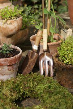 Dags att sätta igång med trädgårdsarbetet.