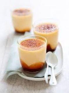 Semoule au lait et Caramel - Recette de cuisine Marmiton : une recette