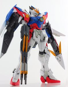 MG 1/100 Wing Gundam Proto Zero - Painted Build Modeled by Mat