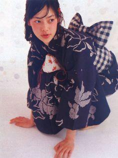 yukata / model: Mikako Ichikawa