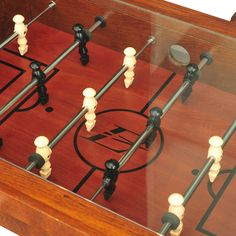 #Black #Friday #Deal EastPoint Sports #Coffee #Table #Soccer #Game, #Dark Wood