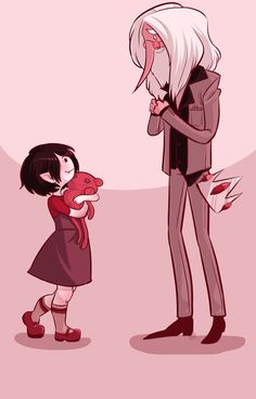 Young Marceline and Simon