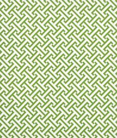 P/K Lifestyles Cross Section Green Fabric