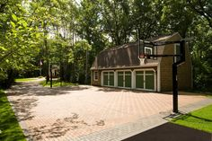 outdoor basketball court area landscape design - Google Search