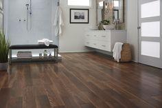 When it's waterproof, it's worry-proof! Browse 100 NEW flooring styles like Brazilian Ebony Wood-Look Tile. Find it in your local Lumber Liquidators!