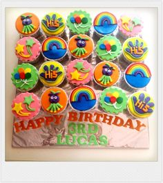 Hi-5 cupcakes