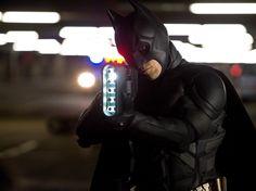 Christian Bale as Batman in the final Dark Knight movie.