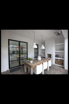 Extension and porch, modern, white, glass and steel veranda, uitbouw