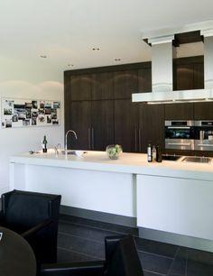 Moderne keuken design met kookeiland