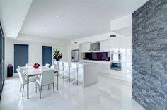 Kenross Kitchens White Shimmer