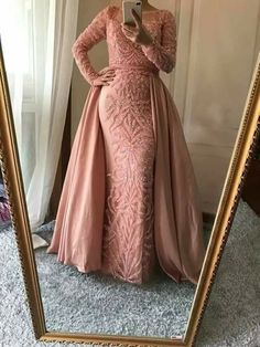 Long Sleeve See Through Heavily Beaded Dusty Pink Long Evening Prom Dresses, Popular Cheap Long 2018 Party Prom Dresses, 17228 - Hijab+ Hijab Prom Dress, Hijab Evening Dress, Beaded Prom Dress, Evening Dresses, Pink Mermaid Dress, Mermaid Prom Dresses, Cheap Prom Dresses, Prom Party Dresses, Prom Dresses Long With Sleeves