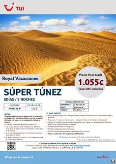 Súper Túnez. 8 días/7 noches. Octubre. Precio final desde 1.055€ opción en 4X4 ultimo minuto - http://zocotours.com/super-tunez-8-dias7-noches-octubre-precio-final-desde-1-055e-opcion-en-4x4-ultimo-minuto/