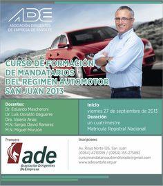 Curso de Formación de Mandatarios del Régimen Automotor - San Juan (2013)