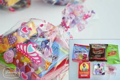 Healthy Birthday Party Goody/Favor Bags | Family Gone Healthy