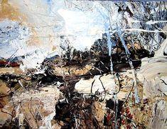 Contemporary Landscape, Abstract Landscape, Landscape Paintings, Abstract Art, Love Painting, Figure Painting, Art Techniques, Art Studios, Art Inspo