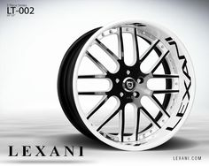 Lexani Wheels, the leader in custom luxury wheels. Wheel Detail - LF-002, part of the Lexani Forged series.