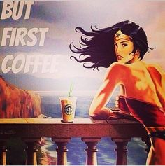 WW, coffee, the ocean... This is so me! Only missing a good book on that balcony