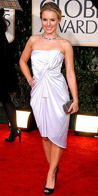 Kristen Bell Golden Globes 2010