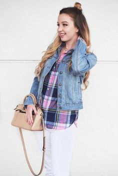 How to wear a Denim Jacket in Spring // Sweet Southern Vogue Blog