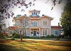 Coolmore Plantation House, built between 1857-1860, North Carolina