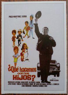 ¿Qué hacemos con los hijos? - Paco Martínez Soria, Photo Card - Mini Poster | eBay