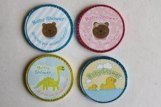 Baby Shower Paquete 10 monedas de chocolate por Tianguisonline
