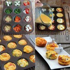 Roliga äggmuffins | Tips | LifeZone