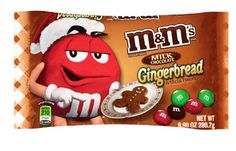 M&M's Gingerbread Chocolate Candies, available at Wal Mart I Love Chocolate, Chocolate Flavors, Chocolate Candies, Best Candy, Favorite Candy, Peanut M&ms, Christmas Stocking Stuffers, Weird Food, Seasonal Food