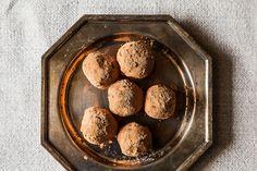 Earl grey vanilla bean truffles.