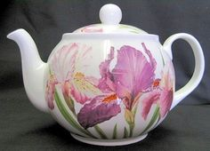 Iris Bone China English Teapot