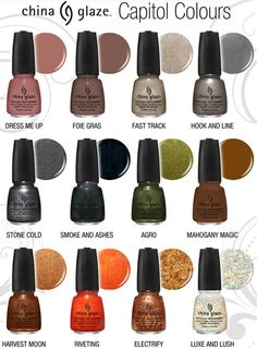 Hunger Games + Nail Polish = China Glaze Capitol Colours