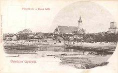A Püspökvár a Duna felől, 1890 Győr Paris Skyline, Taj Mahal, Painting, Travel, Art, Voyage, Art Background, Trips, Painting Art