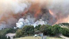08/06/2017, Meer dan 10.000 mensen geëvacueerd door brand in Zuid-Afrika, Afrika, Zuid-Afrika, Klimaat