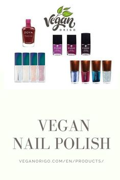 Colour your nails with vegan products