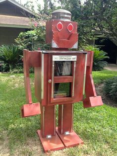 Little Free Library #8001 Robot Library