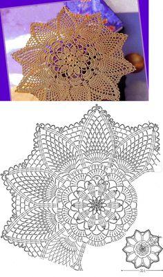Kira crochet: Crocheted scheme no. 649