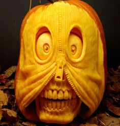 25  Unique Pumpkin Carvings