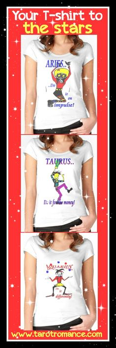 More Astrology T-shirts here: http://www.redbubble.com/people/alisonwilkie/collections/472059-astrology-t-shirts