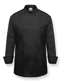 """VIP"" Chef Coat-Black"