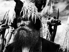 Senior Ainu Chief, Ekashmatok Ekashi, Shiraoi Village