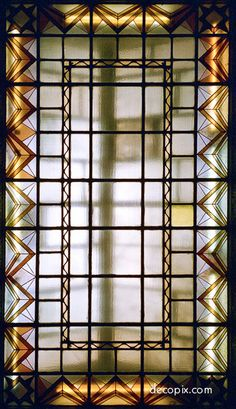 Art Deco Glass Gallery - Decopix - The Art Deco Architecture Site